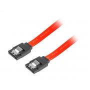 Lanberg SATA 3 6GB/S 30cm Metallklämmor Röd