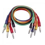 DAP Audio Patch kábel sztereo 60 cm 6 db