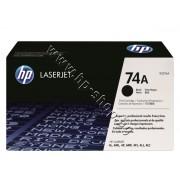 Тонер HP 74A за 4L/4ML/4P/4MP (3K), p/n 92274A - Оригинален HP консуматив - тонер касета