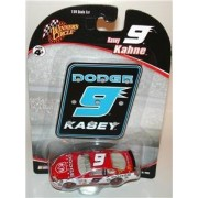Kasey Kahne #9 Red & White Dodge Charger 2006 Edition 1/64 Scale Winnes Circle Blue Mopar Pit Board Sign Issue By Race Rock