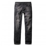 Uomo i pantaloni BRANDIT - Rover - Nero denim - sottile in forma - 1017-schwarz