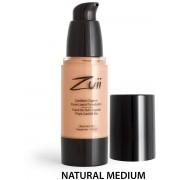 Zuii ORGANIC Certified Organic Flora Liquid Foundation - Natural Medium (vegan)