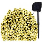 Solcellsbelysning LED Slinga 17m 100st lampor