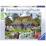 Puzzle Casuta In Anglia 1500 Piese.Sistemul SoftclickVarsta recomandata 4 ani+