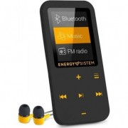 Player Mp4 Energy Sistem, S447220, Bluetooth, 16 GB, FM, Touch, Amber