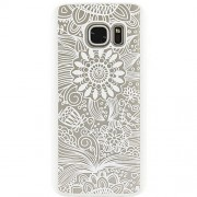Husa Protectie Spate YUPPI LOVE TECH Spirit Natural Alb pentru Samsung Galaxy S7 Edge