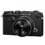 Olympus PEN-F + 17mm F/1.8 - Nero - 2 Anni Di Garanzia