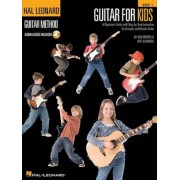 Guitar for Kids: A Beginner's Guide with Step-By-Step Instruction for Acoustic and Electric Guitar [With CD (Audio)], Paperback