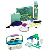 Elenco Bug Collector Set, GeoSafari Jr. Bugnoculars and Science on a Nature Walk Kit, Educational Gift Bundle, Kids Science Experiments, Science Discovery Fun Activity For Kids