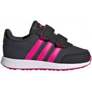 adidas VS Switch 2 CMF Infant Sneakers - Maat 23 - Meisjes - zwart/ roze
