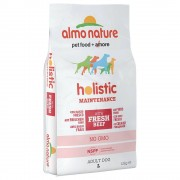 Almo Nature Holistic Large Adult con Manzo e Riso - 2 x 12 kg