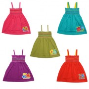 Eazy Trendz Cute Little Baby Frocks Pack of 5