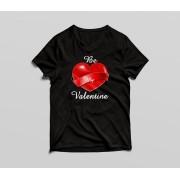 Tricou Be my Valentine