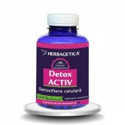 Detox Activ, 120 cps, Herbagetica