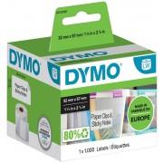 DYMO Multifunctionele etiketten 11354 32 x 57 mm Wit 1000 Etiketten