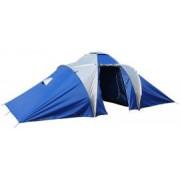 Camping családi sátor 6 személyre BROTHER - kék