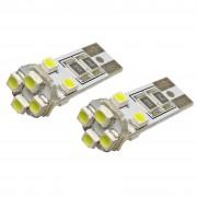 Izzó 12V/8 SMD LED CANBUS T10 92544