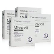 FOLIGAIN MINOXIDIL 2% HAIR REGROWTH TREATMENT For Women 12 Month Supply
