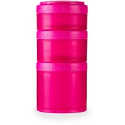 Blender Bottle BlenderBottle® ProStak™ Pack de 3 - Full Color - Rosa