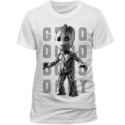 Guardians of the Galaxy 2 - Photo Groot white T-Shirt