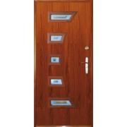 Drzwi stalowe z przeszkleniem MADAGASKAR