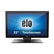 Elo Touch 2202L érintőképernyős POS monitor, kivetített kapacitív, ZeroBezel, fekete