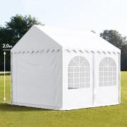 taltpartner.se Partytält 3x4m PVC 550 g/m² vit vattentät