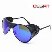 Ossat polarizacion alpinismo Gafas de sol - Negro + azul REVO