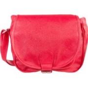 Louise Belgium Women Pink Rexine Sling Bag