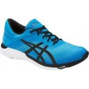 Asics FuzeX Rush Light Weight Men's Running Shoes, Aqua Splash/Black/Diva Blue - 13 US Walking Shoes For Men(Blue)