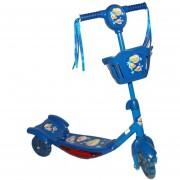 Tri Scooter Monopatin Musical Con Luz- Azul