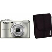 NIKON Coolpix A10 compactcamera, incl. tas, 16,1 megapixel, 5x optische zoom