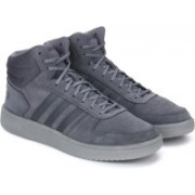 ADIDAS HOOPS 2.0 MID Basketball Shoes For Men(Grey)
