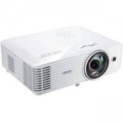 Видео проектор Acer S1286H, DLP 3D Ready, Short-Throw, Resol.: XGA(1024x768) Format: 4:3, Contrast: 20 000:1, Brightness: 3 500 lumens, MR.JQF11.001
