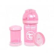 Twistshake® flašica protiv grčeva, 180ml, Pastel Pink