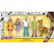 Scooby-Doo, Set 5 figurine Bendable (flexibile) 12-14 cm