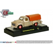 1949 Studebaker 2 R Truck * Auto Trucks Series Release 34 * M2 Machines 2015 Castline Premium Edition 1:64 Scale Die Cast Vehicle ( R34 15 37 )