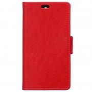 Capa tipo Carteira Clássica para Microsoft Lumia 550 - Vermelho