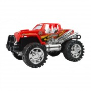 Juguete Auto jeep 4x4 Descapotable A Friccion