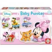 Бебешки пъзел Minnie Mouse Educa, 8412668156128