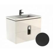 Baza de lavoar Kolo Twins 80 x 46 x 57 cm negru mat -89555000