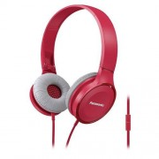 HEADPHONES, Panasonic RP-HF100ME-P, Microphone, Pink
