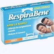 Glaxosmithkline C.Health.Spa Cerotto Nasale Trasparente Adulti Respira Bene 10 Pezzi