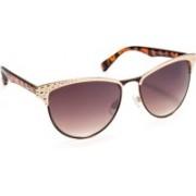 Stacle Cat-eye Sunglasses(Brown)