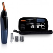 Philips Nose Trimmer NT5180/15 trimmer pentru nas + husă de transport și set de manichiură
