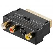 Goobay Scart - 3x RCA Composiet Adapter