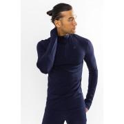 Craft Fuseknit Comfort Zip férfi póló sötétkék L
