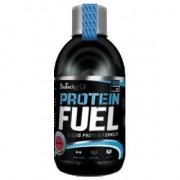 BioTech USA Protein fuel málna ital - 500 ml