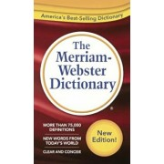 The Merriam-Webster Dictionary, Hardcover/Merriam-Webster