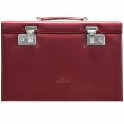 Windrose Merino Caja para joyas joyero 33 cm Rot